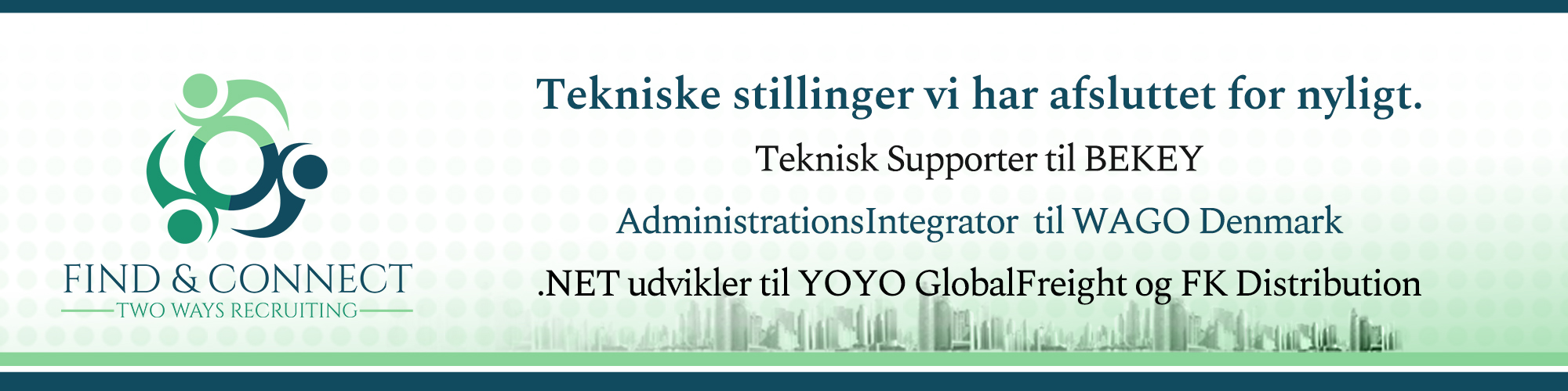 .NET udvikler, ApplikationsIntegrator, Teknisk Supporter