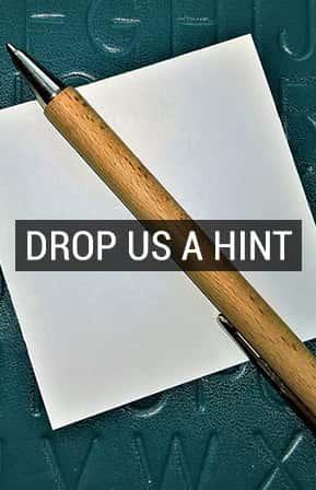 """""""Drop a hint"""" til din profil"""